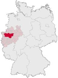 Red - Ruhr Area Pink - Northrhine-Westphalia